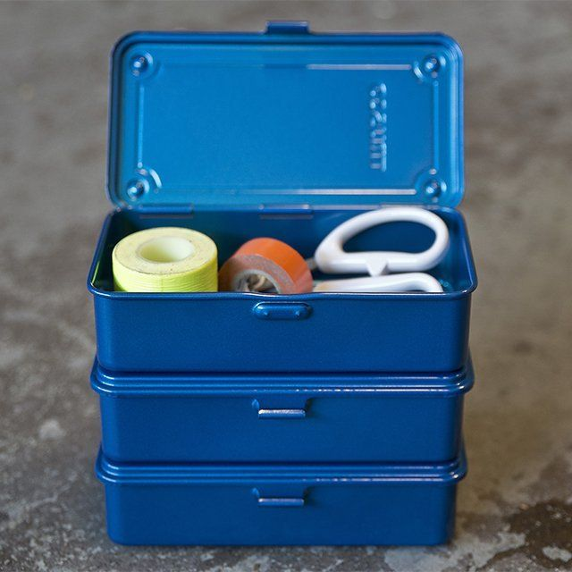 Trusco Small Trunk Tool Box #Box, #Small, #Stackable, #Tool