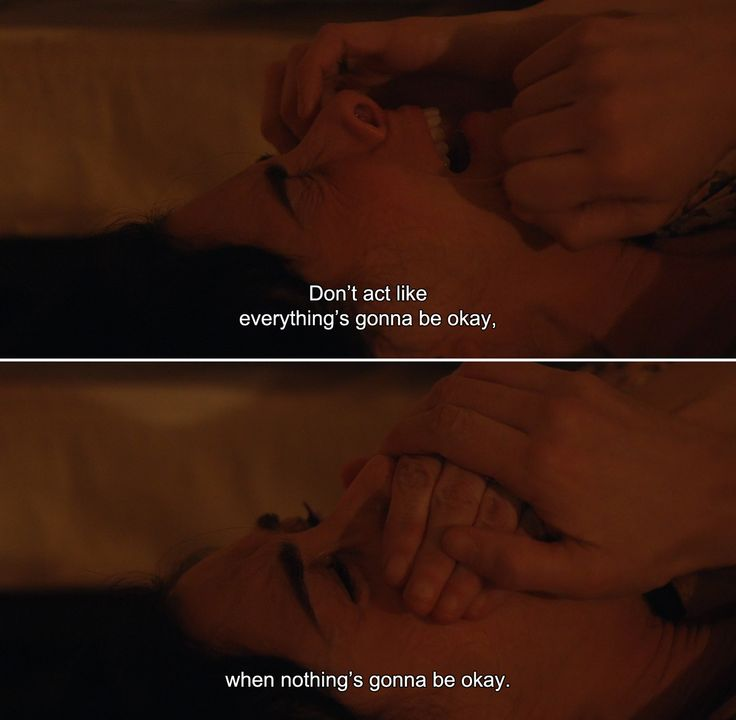 anamorphosis-and-isolate:  ― I Smile Back (2015)Laney:Don't act like everything's gonna be okay, when nothing's gonna be okay.