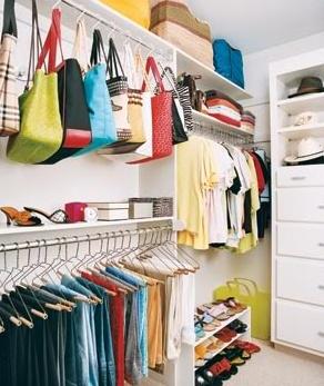 opbergideeën handtassen- Deco - Design - Home - ELLE België