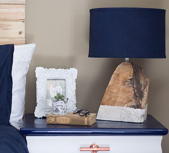 modern rustic salvaged wood lamp mountainmodernlif…