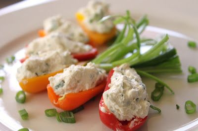 Cooking with Anne: Cheese Stuffed Mini Peppers