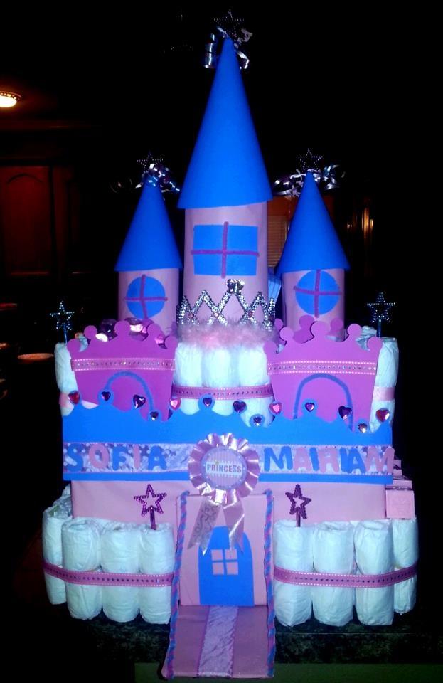 Diaper Castle i made for Sofia! :)