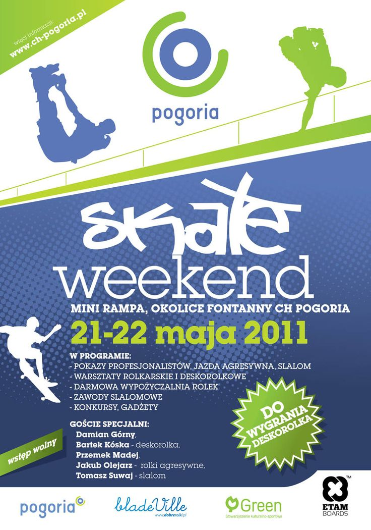 Skate Weekend @ CH Pogoria Poster