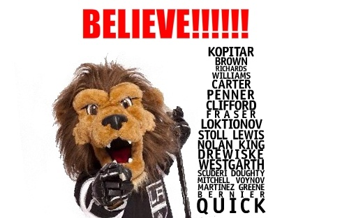 I BELIEVE!King Baby, Hockey Moments, Hockey Stuff, King Hockey, King Fans, Angels King, Hockey Hockey, Hockey Girls, Hockey Life