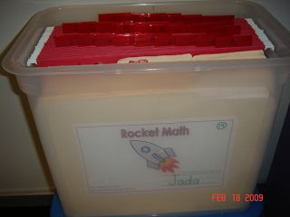Once Upon a Classroom: Rocket Math - Helping Students Master Basic Math Facts