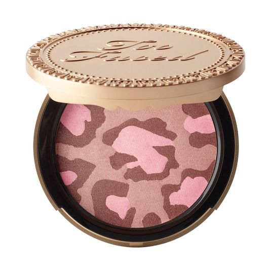 My absolute favorite Bronzer! Pink Leopard Blushing Bronzer - Too Faced