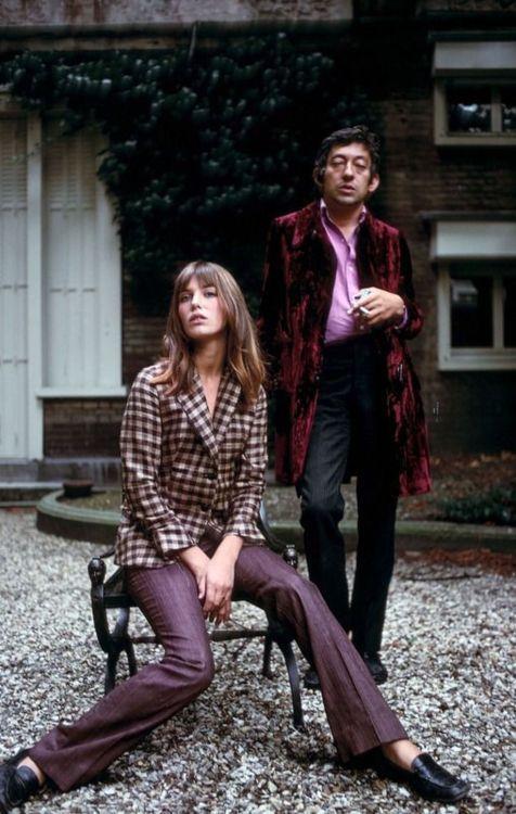 Jane Birkin and Serge Gainsbourg                              …