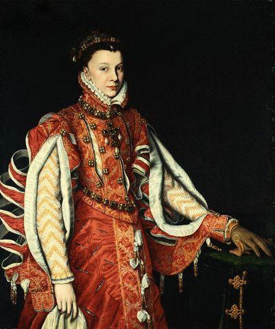 1568 Antonis Mor - Elizabeth de Valois, Queen of Spain