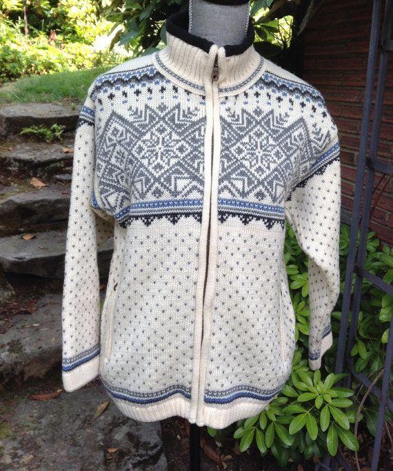 Beautiful Norwegian Sweater by Norskwear. Size S
