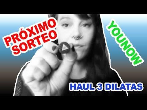 SORTEO PRÓXIMO + YOUNOW + HAUL 3 Dilataciones baratas para la oreja review