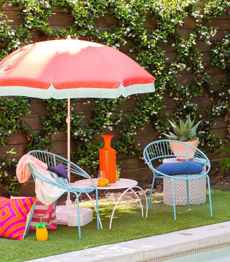 Patio Umbrella Hacks: Outdoor Upgrades: Totally Clever & Cool Backyard Hacks To