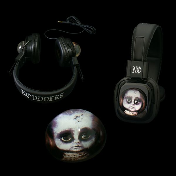 Headphones with Creepy Doll Glass Domes --------- http://noddders.com/product/creepy-headphones-crystal/  ---------- #subculture #gothic #victorian #steampunk #retro #vintage #comics #cartoon #characters #creepy #goth #punk #blackjewelries #gothstyle #gothicfashion #skulls #alternative #underground #collection #collectibles #style #stylish #cemetery #graveyard #macabre #emo #anime #music #headphones #glassdomes