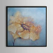 Yellow Petal Floral Framed Oil Painting – AUD $ 112.15