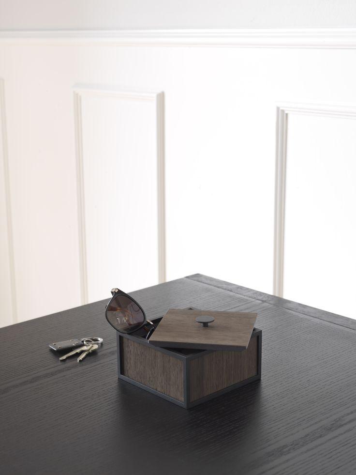 Frame 20 storage box in Smoked oak from by Lassen
