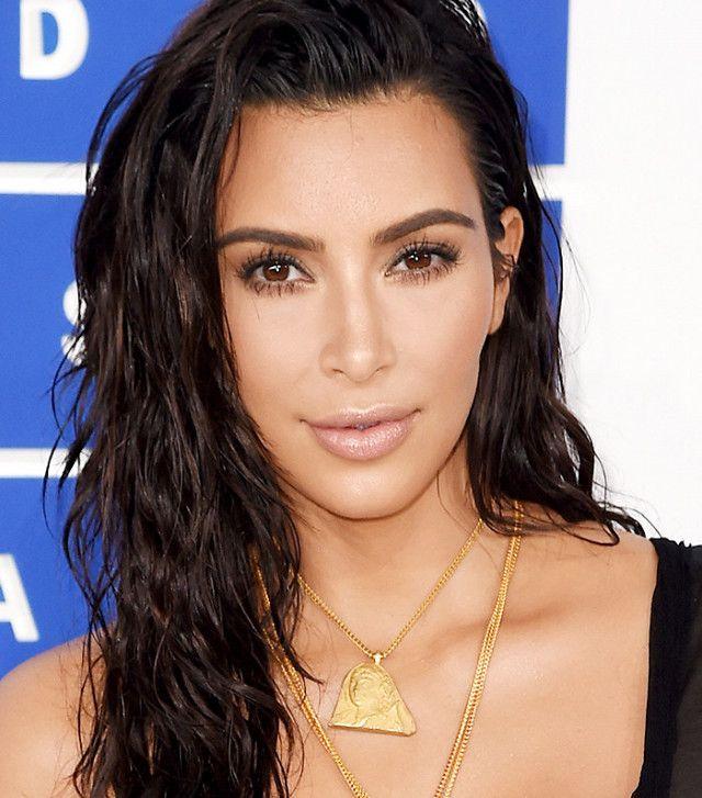 Kim Kardashian's glowing skin is mesmerizing