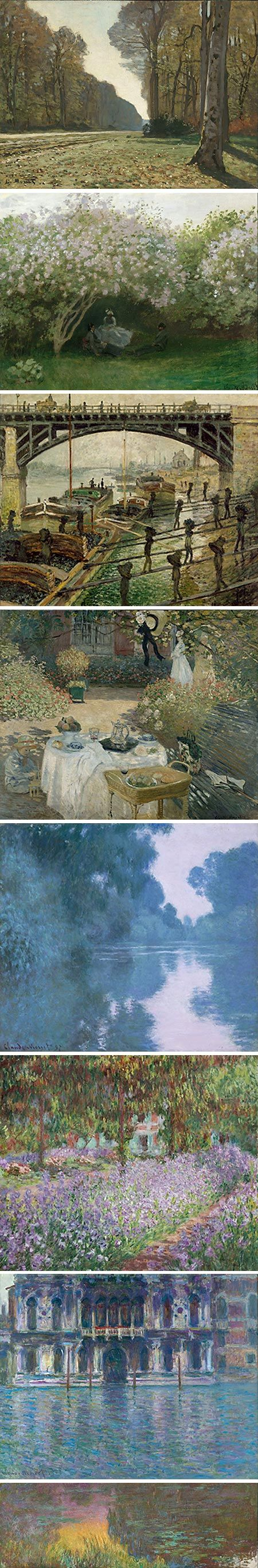 claude monet the man behind the painting Claude monet was born in his criticism of academic painting and his refusal to follow a good art school when the sun, disappearing behind the city.