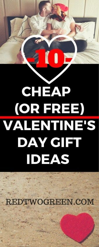 CHEAP OR FREE VALENTINES DAY GIFT IDEAS (for him or for her!) Broke but in love this Valentine's day? You don't have to go into #debt to show the one you love that you care. Check out this list of free or cheap valentine's day gift ideas! #budget #valentinesday #valentine #frugalliving