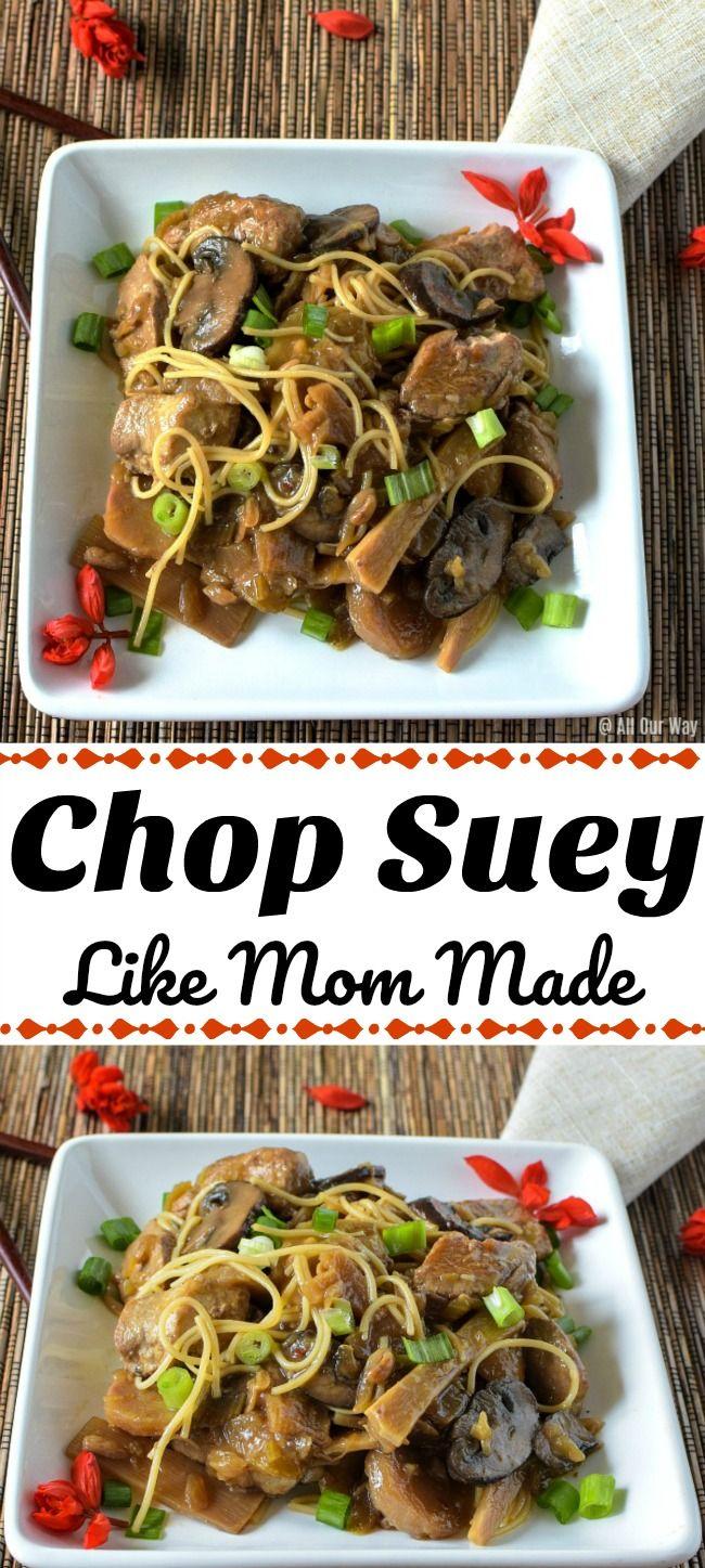 Chop Suey Traditional Chinese American Recipe Like Mom Made