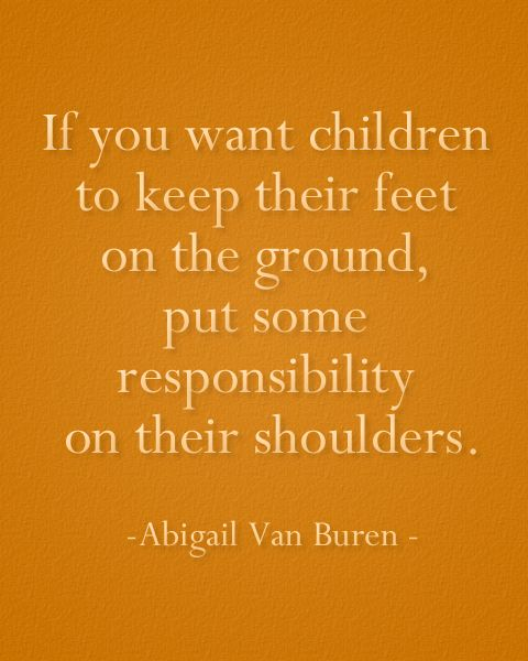 Wise words on parenting...
