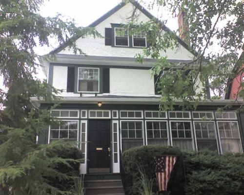 White house black trim home pinterest - Black house white trim ...