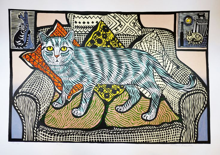 Edward Bawden -- unfortunately unsourced and undated....but gorgeous