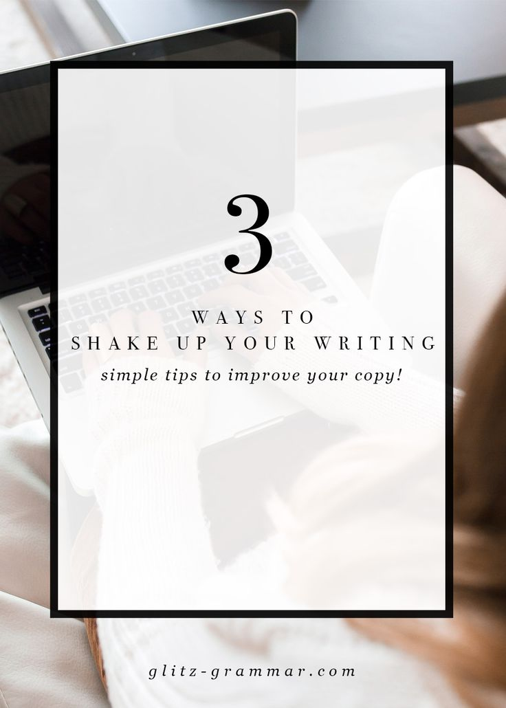 3 ways to shake up your writing and get out of your writers block. Writing rut got you down? I feel ya. Sometimes it's not a lack of ideas, but just being sick of sounding the same and not knowing how to shake up your writing so you can create blog post ideas.