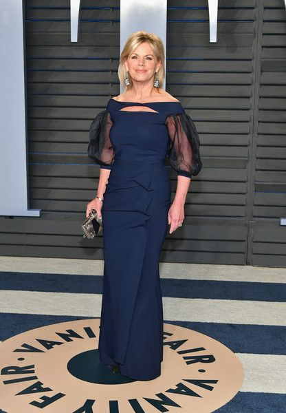 Gretchen Carlson attends the 2018 Vanity Fair Oscar Party hosted by Radhika Jones at Wallis Annenberg Center for the Performing Arts on March 4, 2018 in Beverly Hills, California.