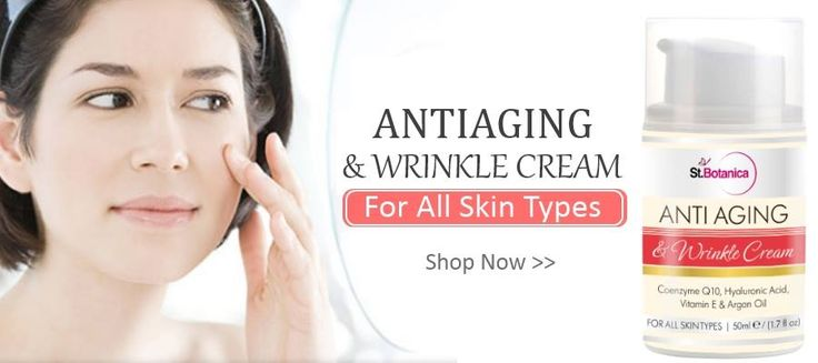 Buy St.Botanica AntiAging & Anti Wrinkle Cream Online For All Skin Types, Shop Now !!!
