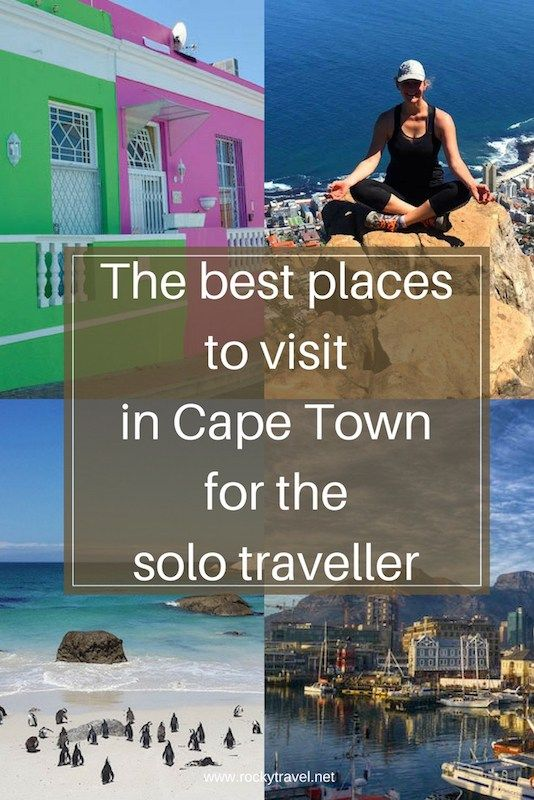 The Best Places to Visit in Cape Town For the Solo Traveller.