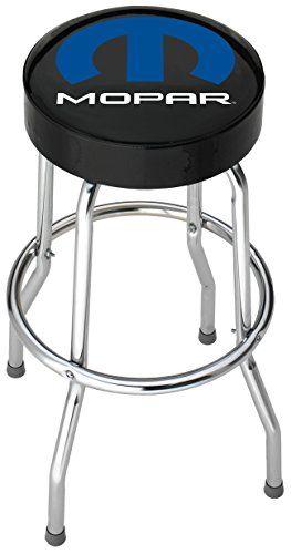 Plasticolor 004784R01 Mopar Garage Stool, 1 Pack. For product info go to:  https://www.caraccessoriesonlinemarket.com/plasticolor-004784r01-mopar-garage-stool-1-pack/