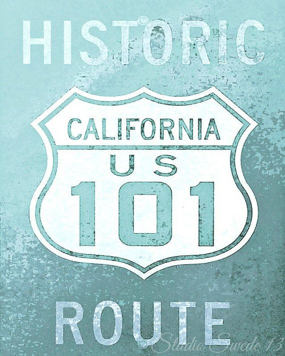 California Print California Sign Word Art Old Sign