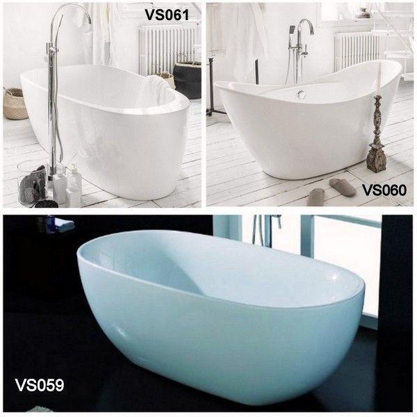 Vasca Freestanding 170x85 170x78 170x90 Spedizione E Iva Incluse