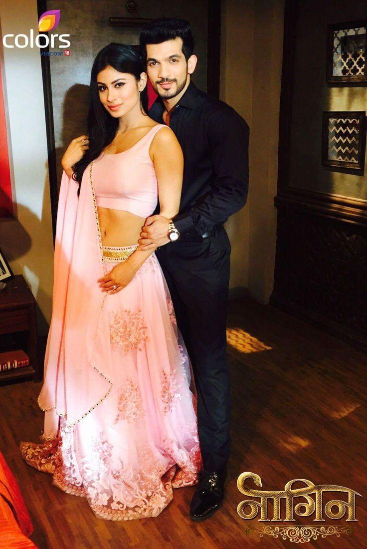 Naagin - Mouni and Arjun