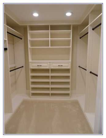 5 x 6 walk in closet design - Custom Closet Design Ideas