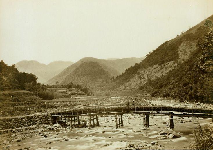 箱根 湯本 三枚橋 ベアト撮影 Hakone Yumoto/sanmai-bridge