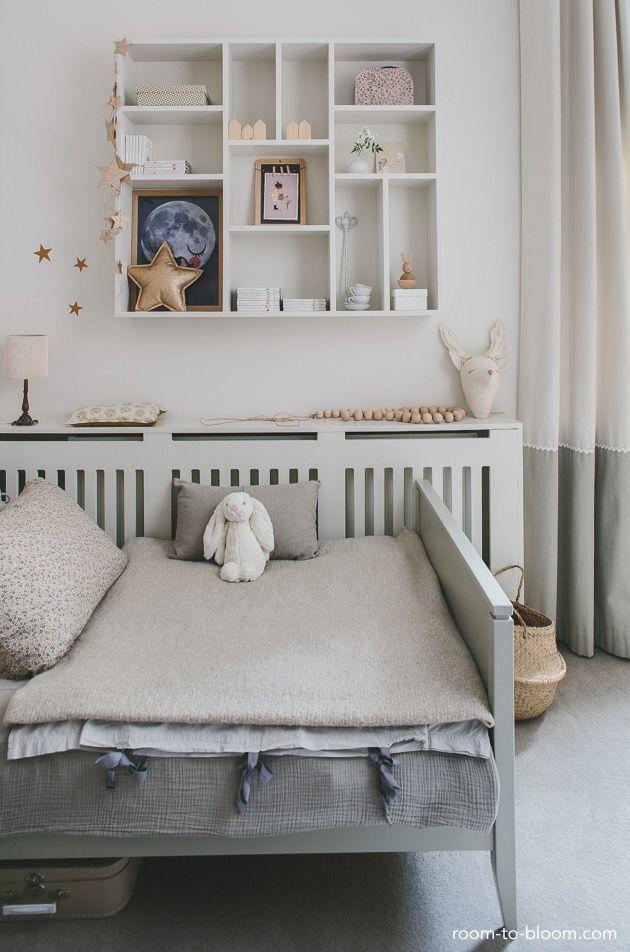 childrens room interior design: grey & lilac | Room to Bloom