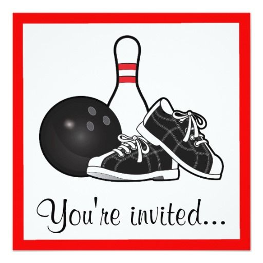 Best Bowling Birthday Ideas Images On   Anniversary