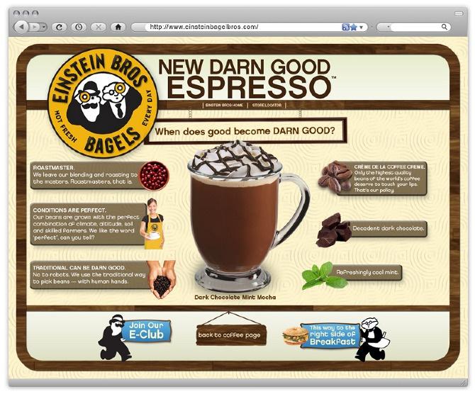 Einstein Bro's [ Web Design ] - A.I - Art Direction & Design