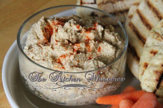 Roasted cauliflower hummus | Hummus | Pinterest