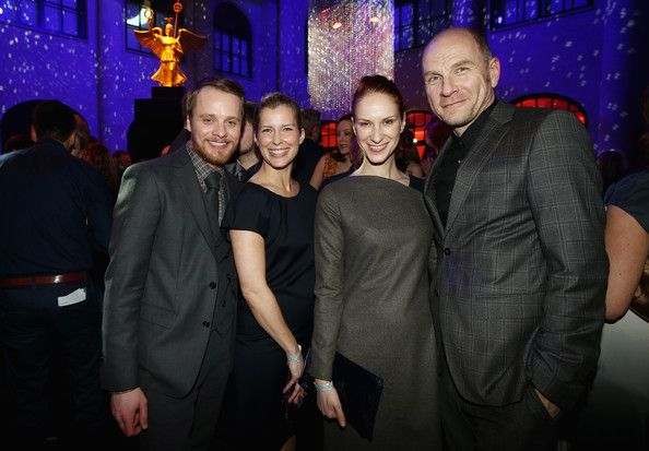 Valerie Niehaus Photos - (L-R) Stefan Konarske, Valerie Niehaus, Chiara Schoras, Goetz Schubert attend the Festival Night by Bunte and BMW at Humboldt Carre on February 8, 2013 in Berlin, Germany. - Festival Night By Bunte And BMW - BMW At The 63rd Berlinale International Film Festival
