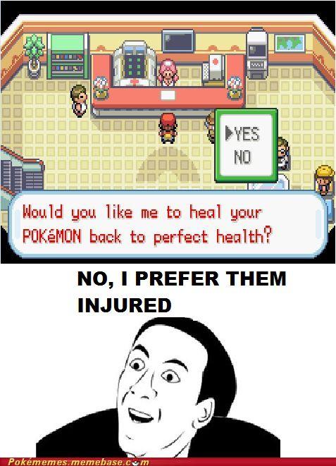 Pokémon Center Logic