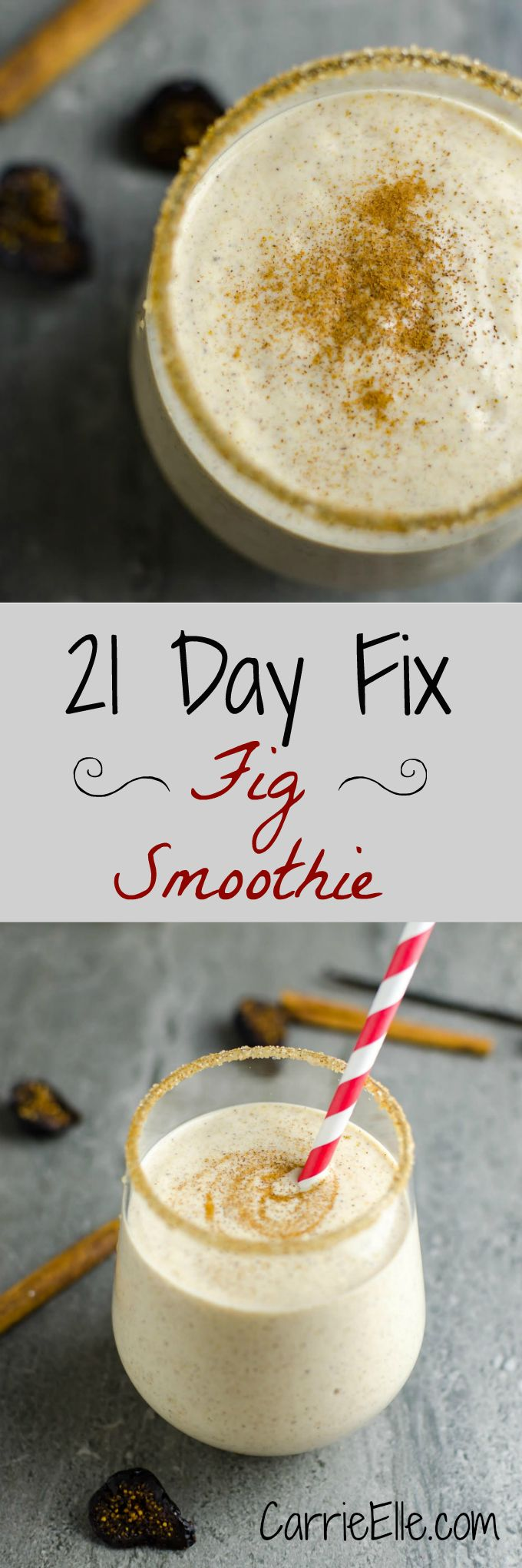 21 Day Fix Fig Smoothie
