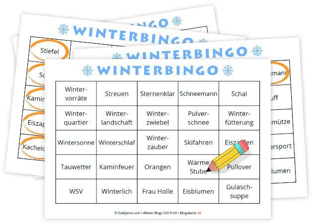 Bingo Spiel FГјr Senioren