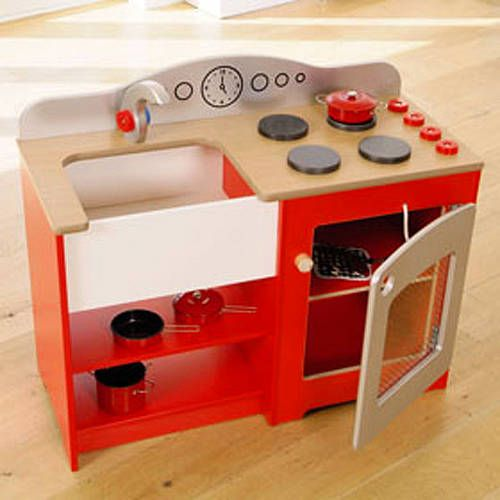 Kids Play Kitchen Wood: Best 43 Kids Kitchen Ideas Images On Pinterest