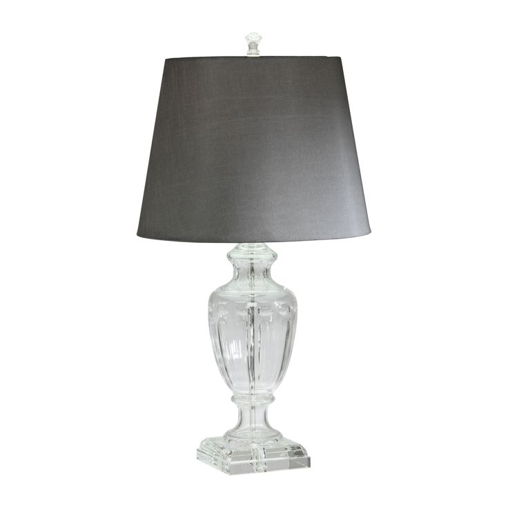Beekman Crystal Table Lamp - Ethan Allen US | Zandpour Living Room ...