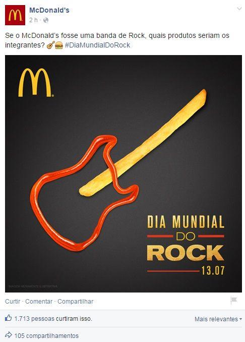 Confira as homenagens das marcas no Dia Mundial do Rock
