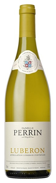 Famille Perrin Luberon blanc 2010 - The blend of Grenache Blanc, Bourboulenc, Ugni Blanc and Roussane grapes has produced a typical Rhone Valley white. Serve it chilled as an aperitif or with grilled fish, chicken or Mediterranean cuisine.