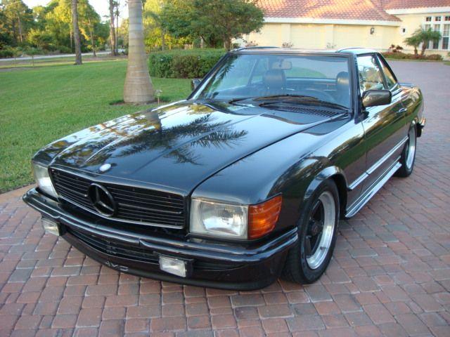 1985 Mercedes-Benz 500 SL AMG (R107 Euro)