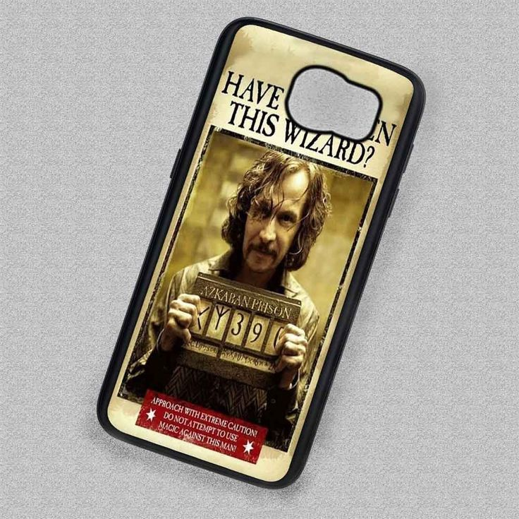 Against this Man Azkaban Sirius Black - Samsung Galaxy S7 S6 S5 Note 7 Cases & Covers