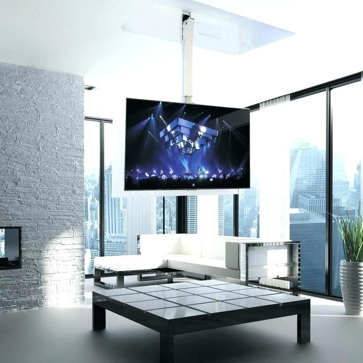 Image Result For How To Hang A Tv From The Ceiling Living Room